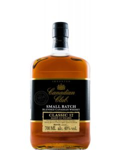 Whisky Canadian Club 12 Anos 70 Cl