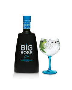Gin Big Boss Dry Premium 70Cl + 1 Copo CX