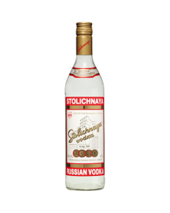 Vodka Stolichnaya Red 70 Cl